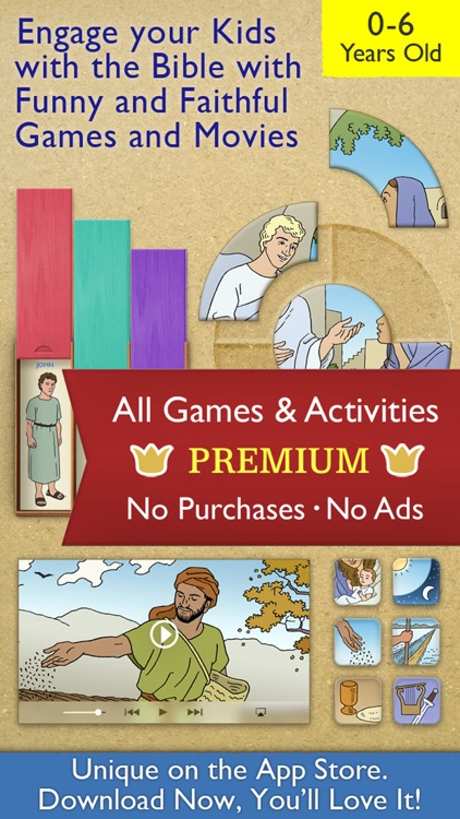 My First Bible Games for Kids and Family Premium