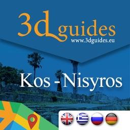 Kos - Nisyros by 3DGuides