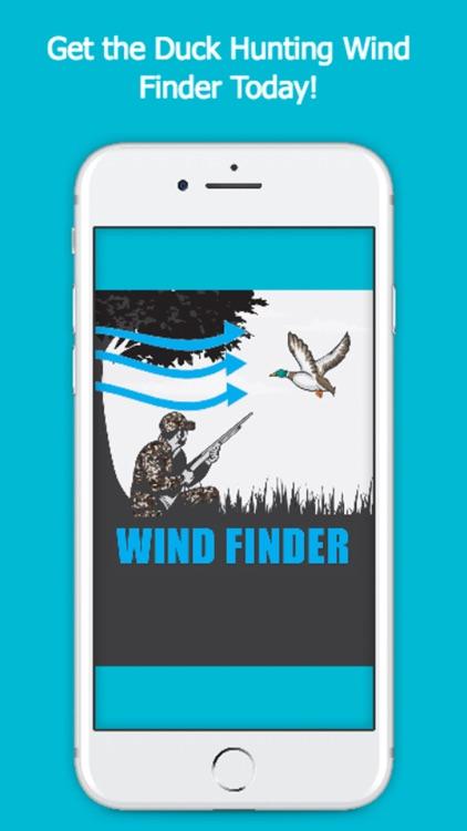Duck Hunting Wind Finder - Weather App screenshot-4