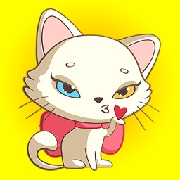 Nika The Cat Stickers Pack 2