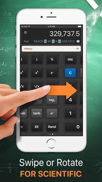 Calculator HD screenshot-3