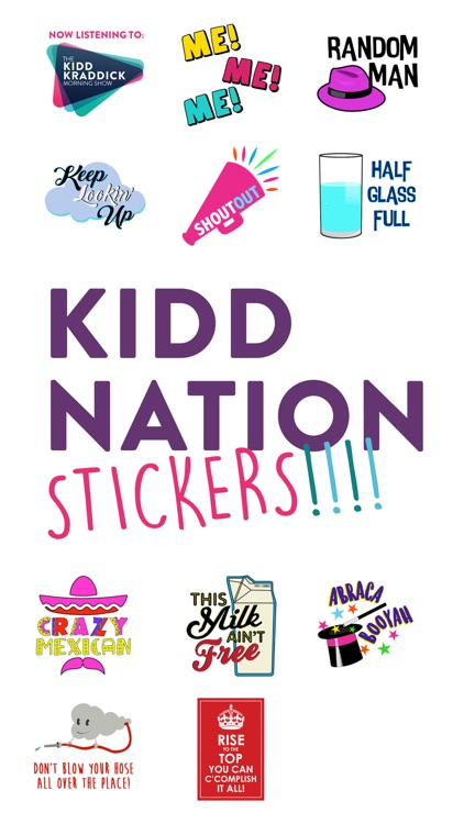 KiddNation Stickers
