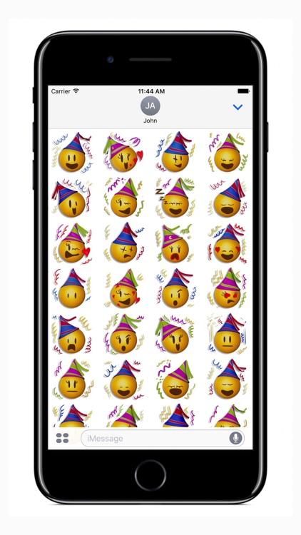 Happy New Year Emoji - Stickers
