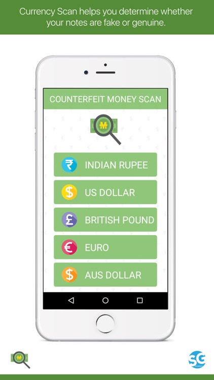 Currency Note Scan by SG STUDIO 4