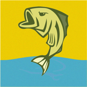 CatchTracker by FishingNotes | Lake Fishing Reports, Fishing Spots, Fishing Tips & Fishing Forecast App for Anglers icon