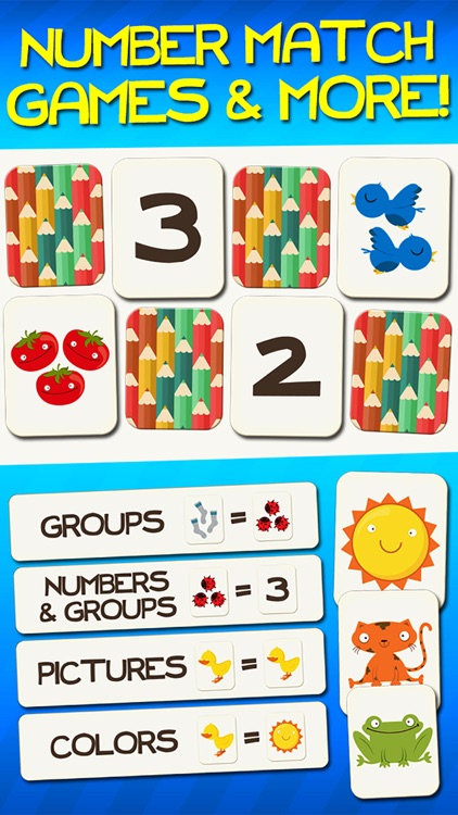 Number Games Match Game Free Games for Kids Math