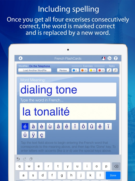 Learn French FlashCards for iPad screenshot-4