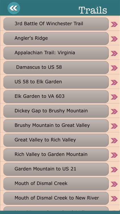 Virginia State Campgrounds & Hiking Trails screenshot-3