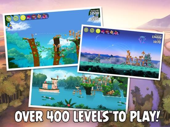Angry Birds Rio HD Screenshots