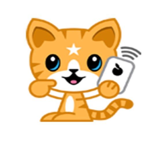 Mango Tiger Stickers