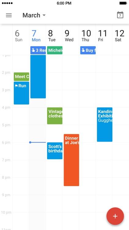 Google Calendar screenshot-4