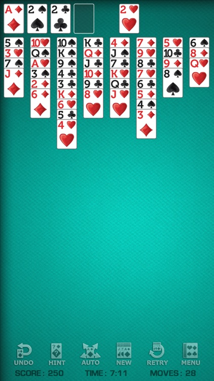 FreeCell Solitaire Free! screenshot-0