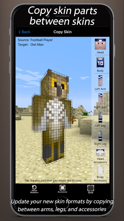 Skin Creator 3D for Minecraft screenshot-4