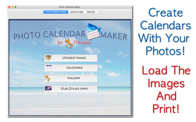 photo calendar maker on the mac app store