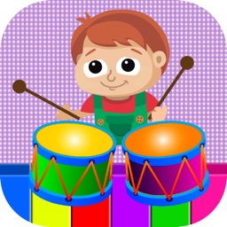 Kids Musical Instruments - Kids piano sound touch