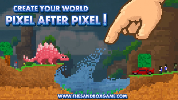 The Sandbox - Building & Crafting a Pixel World!
