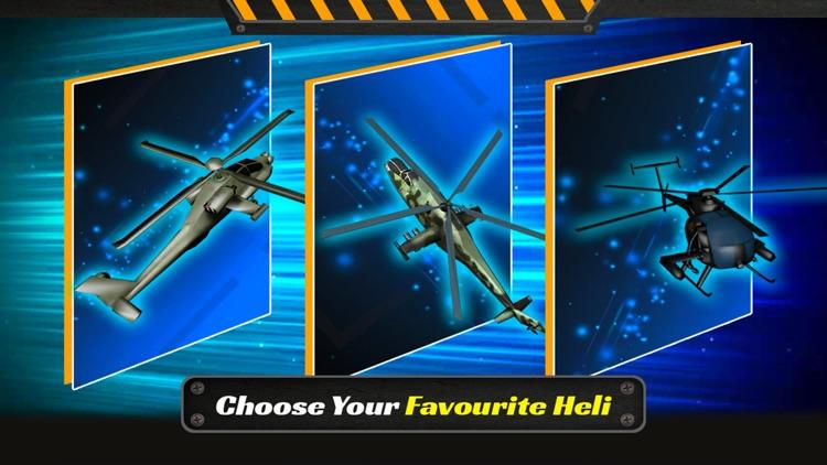 Gunship Helicopter Battle 2017: Air Fighter 3D screenshot-3