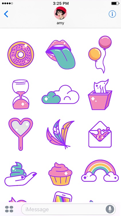 Unicorn Snot Stickers