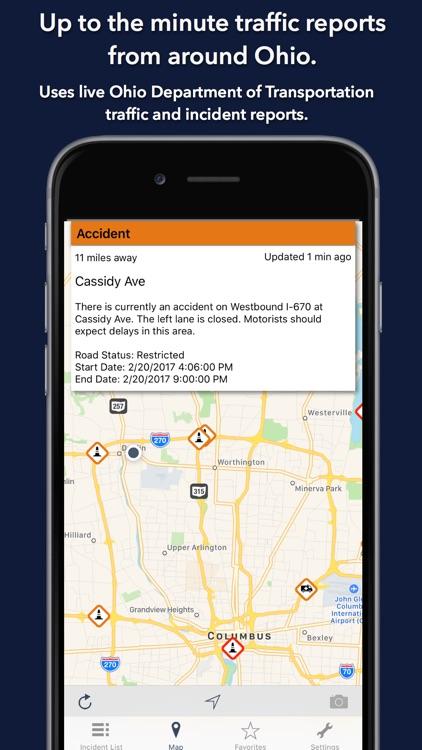 Ohio Roads - Traffic Reports & Cameras screenshot-0
