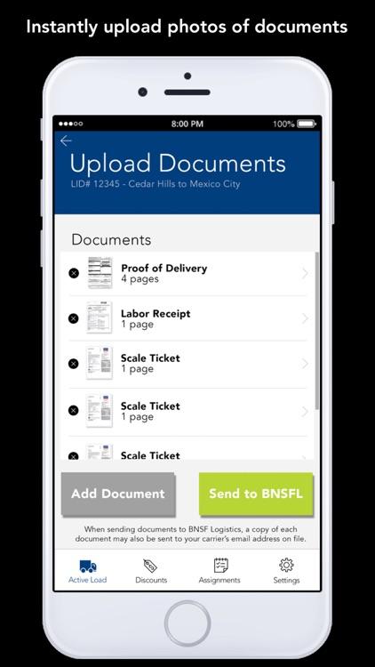 BNSF Logistics Mobile App screenshot-3
