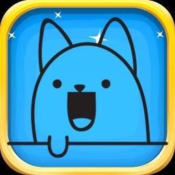 Manga Cat Stickers - Manga Cat Emoji Set