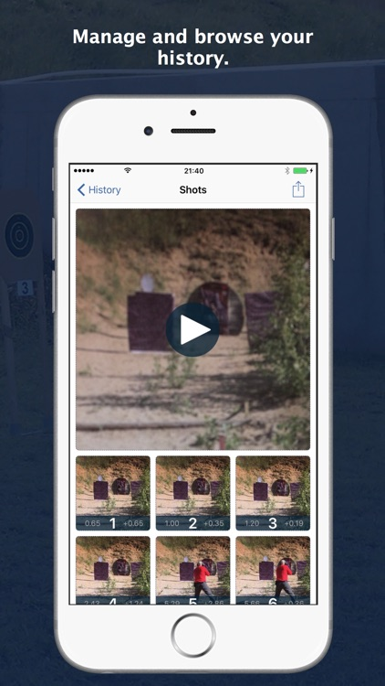ShoTi - Shot Timer with Video Recording screenshot-4