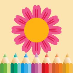 çiçek Mandala Boyama Oyunları App Storeda