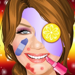 Celebrity MakeOver ,Spa,Doctor face Treatment,Hair Style,Dresses free games.