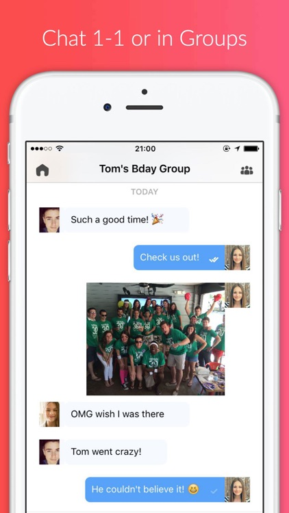 BOINK! - Snap & Chat with Friends & Groups screenshot-3
