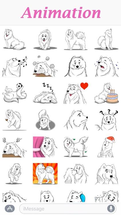 Husky Dog - Cute snow dog for iMessage