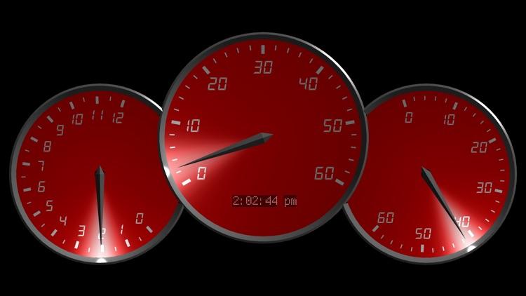 0 to 60 Speedo Clock