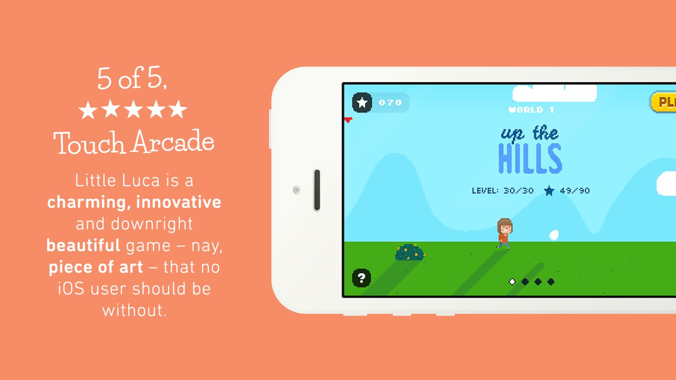 Screenshot do app Little Luca