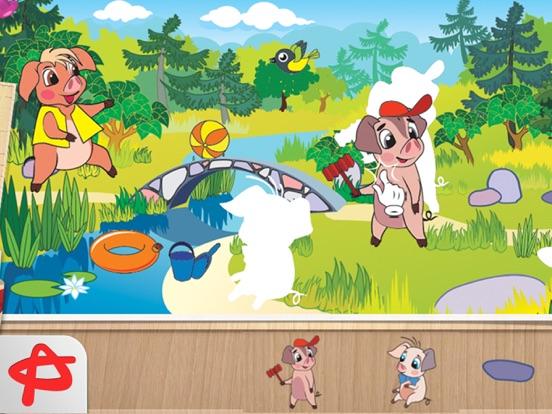 Скачать игру Shadow Shapes: Бесплатные Сказки и Пазлы для Детей