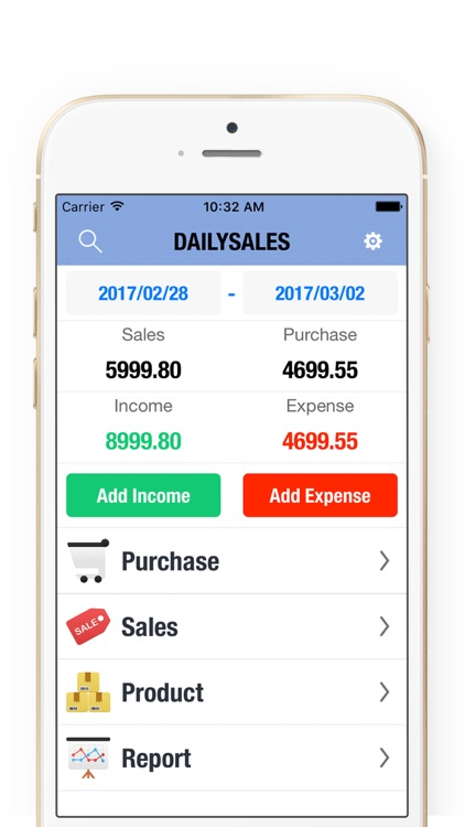 Daily Sales Tracker 3 + Inventory Tracker & Manage