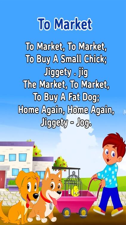 Nursery Rhymes For Toddlers - Kids Free Rhymes screenshot-3