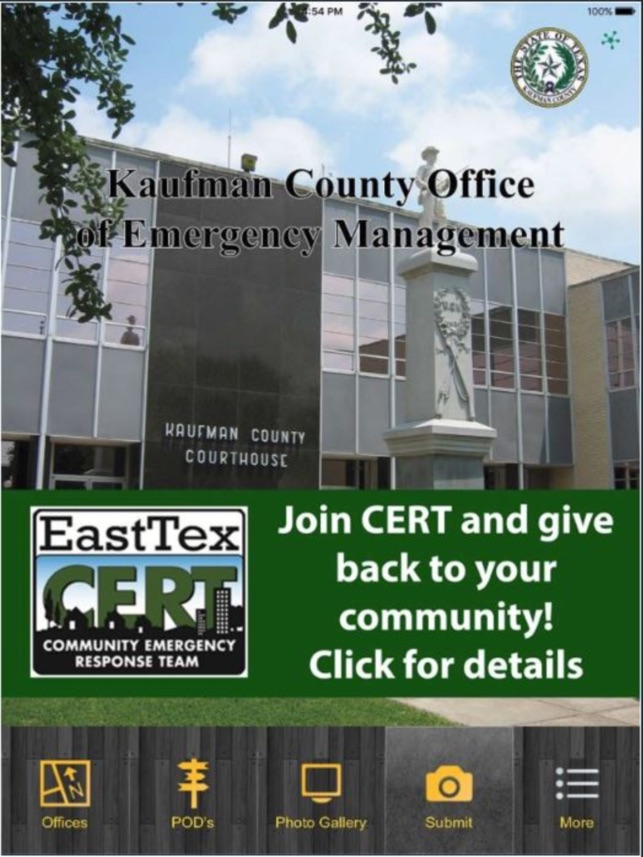 Kaufman County Emergency Management on the App Store