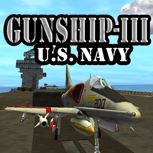 Gunship III - Combat Flight Simulator - U.S. Navy icon