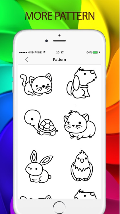 Sketches Color - a relaxing coloring book for kids screenshot-4