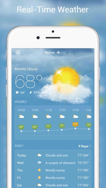 Live Weather - Weather Radar & Forecast app
