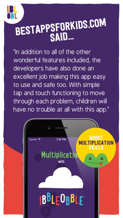 Multiplication with Ibbleobble screenshot-4