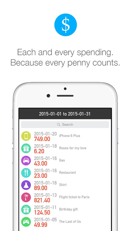 Spendy - All Your Expenses And Spendings screenshot-4