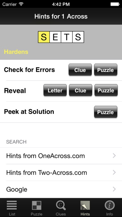 Crossword Light screenshot four