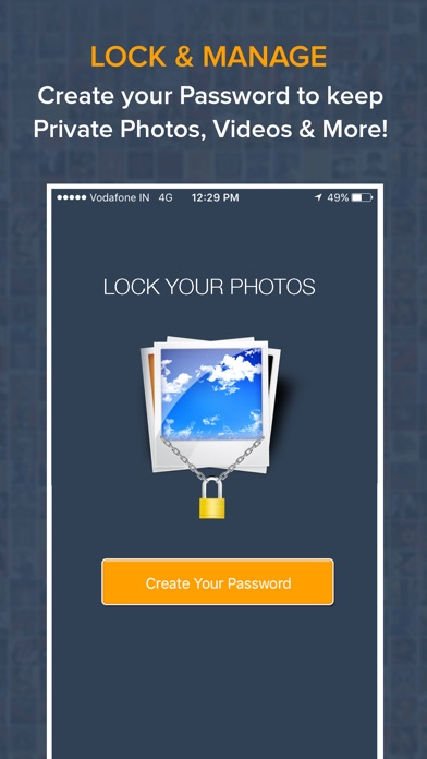 Photo & Video Locker - Hide pictures and Videos iPhone