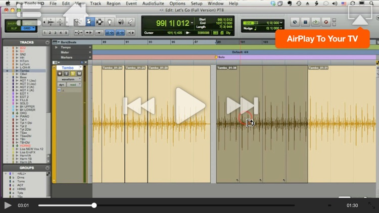 Course For Pro Tools 101 - Core Pro Tools 9 screenshot-2