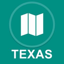 Texas, USA : Offline GPS Navigation