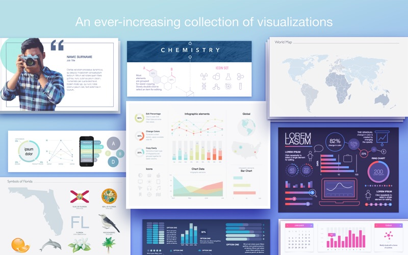 Infographics Templates for PPT Screenshots