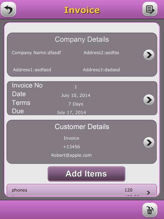Quick Invoice Pro App Price Drops - Invoice pro app