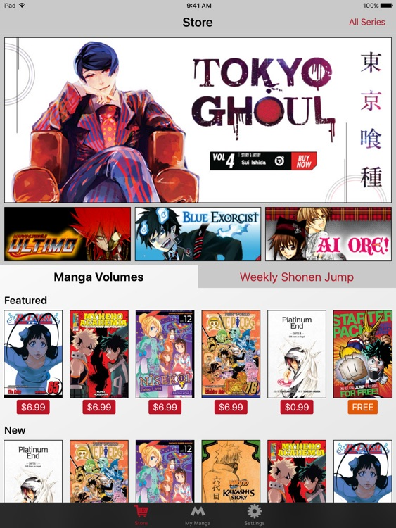 Manga — Naruto, One-Punch Man, One Piece & More screenshot-0