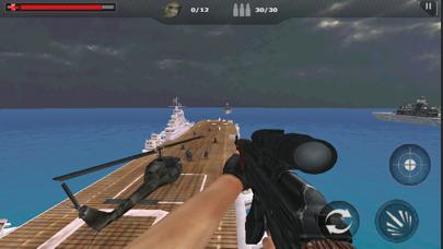 Navy Gunner Shoot War screenshot one