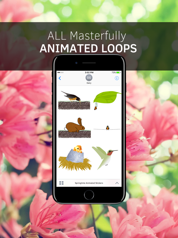 Springtime Animated Stickers screenshot 6